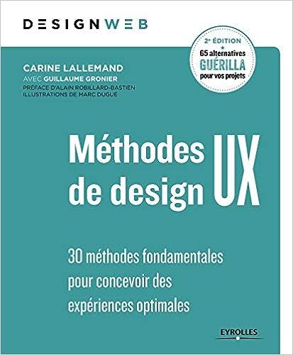 Livre Méthodes de design UX