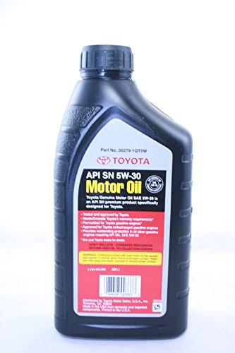 Toyota Genuine Motor Oil Sae 5w30 Oil 1 Quart In The