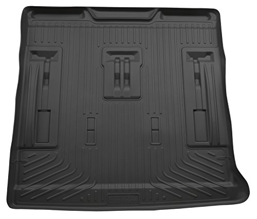 Husky Liners Cargo Liner Fits 07-14 Escalade/Tahoe/Yukon w/ 3rd row seat (Third Row Tahoe Seats)
