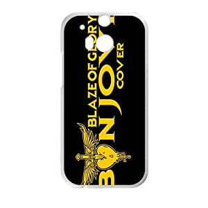Golden Blaze of Glory Cell Phone Case for HTC One M8