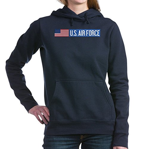 CafePress - U.S. Air Force: Vintage - Pullover Hoodie, Classic & Comfortable Hooded Sweatshirt Navy