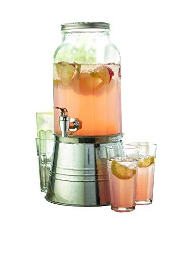 Newport Iced - Newport 6 Piece Beverage Dispenser Set