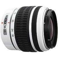 PENTAX DA 18-55mm f/3.5-5.6 AL Weather Resistant Lens (White Color) for Pentax Digital SLR Camera (White Box)