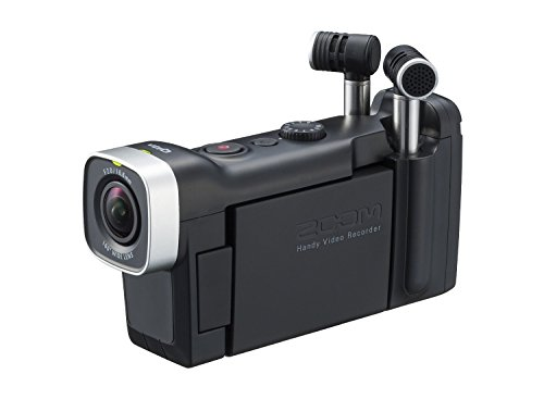 Zoom Q4n Handy Video Recorder with (2x) BT-02 Rechargeable Battery For Zoom Q4 by Willoughby's (Image #1)