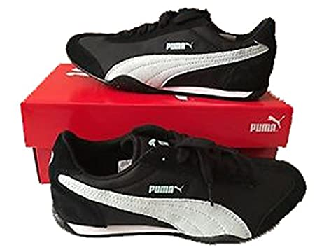 Puma 76 Runner Fun Women's Shoes Sneakers Size US 7 Black / Fair Aqua 359715 04 (Mens Puma 76 Runner)