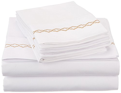 super-soft-light-weight-100-brushed-microfiber-twin-wrinkle-resistant-4-piece-sheet-set-white-with-g