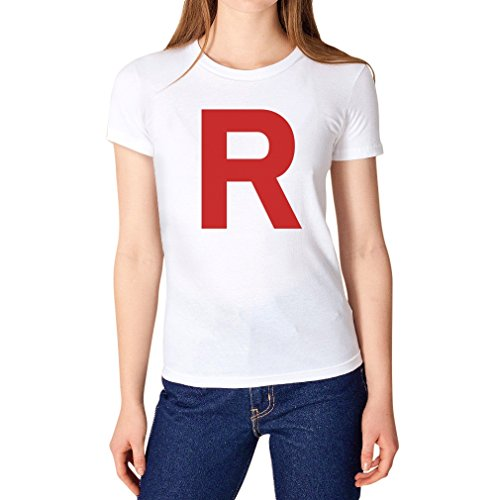 TeeStars Women's - Rocket Inspired T-Shirt Medium White ()