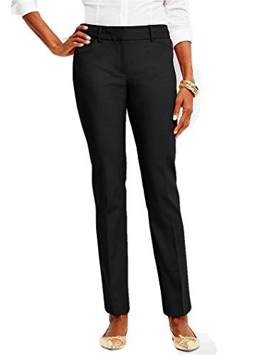 talbots-hampshire-double-weave-ankle-black-pants-classic-size-2-p