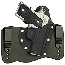 FoxX Holsters Kimber 1911 Ultra Carry II, Ultra TLE II In The Waistband Hybrid Holster Tuckable, Concealed Carry Gun Holster