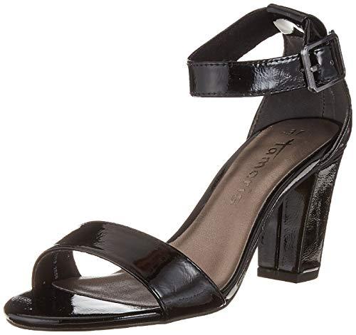 Tamaris Pulsera Negro Con 1 Mujer 28018 Sandalia 971 Para black 1 Patent 22 USRrwUq
