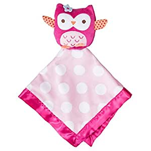Amazon Com Circo Security Blanket Owl Pink Baby