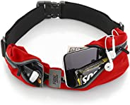 Running Belt USA Patented – iPhone X 6 7 8 Plus Pouch for Runners Best Fitness Gear for Hands-Free Workout Fre