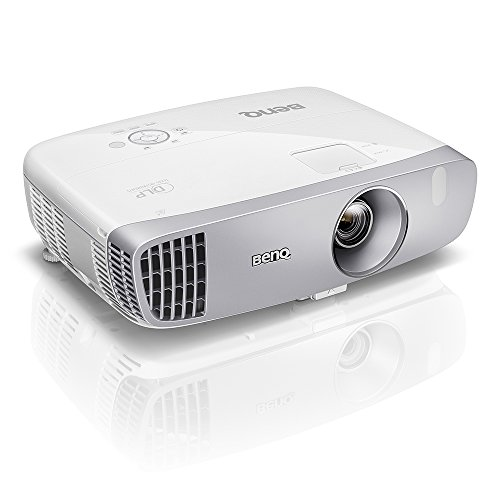BenQ DLP HD Projector (HT2050) - 3D Home Theater Projector with All-Glass Cinema Grade Lens and RGBRGB Color Wheel