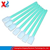 Printer Parts 500PCS Compatible Solvent Foam Tipped Cleaning Swab Indoor Outdoor Yoton Mut0h Large Format Inkjet Replacement for HP