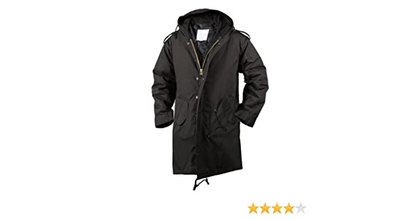 Amazon.com  ROTHCO M-51 FISHTAIL PARKA   BLACK - Size  3XL  Industrial    Scientific 658d581a310