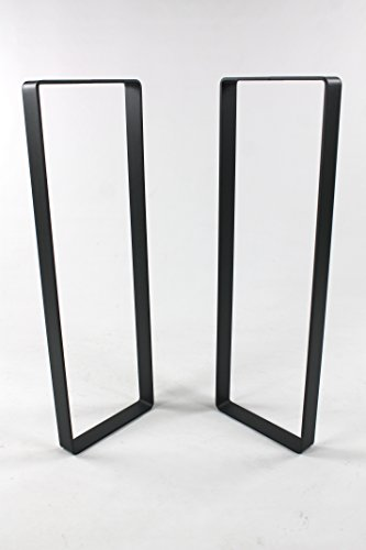 Powdercoated Steel Sofa Table Legs-Choose Your Height and Width … (Bar Height Table Legs)