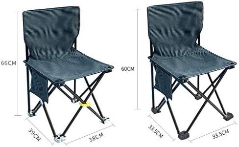 Chaise Longues Camping Chaises Pliantes Poids Léger En Plein Air Les Loisirs La Pêche Plage Siège Avec Poche