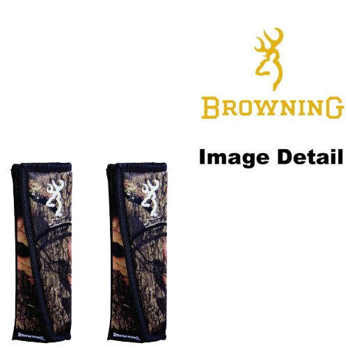 Browning Arms Company Buckmark Logo Infinity Camo Car Truck SUV Seat Belt Shoulder Pads - PAIR