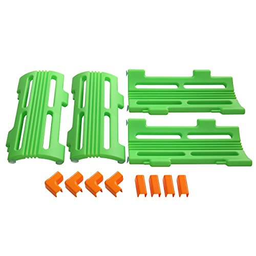 - Tobbi 4 PCS Corner Piece for Baby Playpen Kids Safety Play Center Yard Home Green