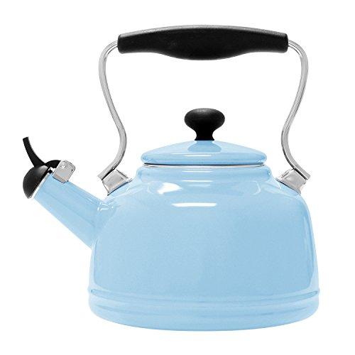 Chantal 37-VINT WT Enamel on Steel Vintage Teakettle, 1.7 quart,(Baby (Chantal Enamel)