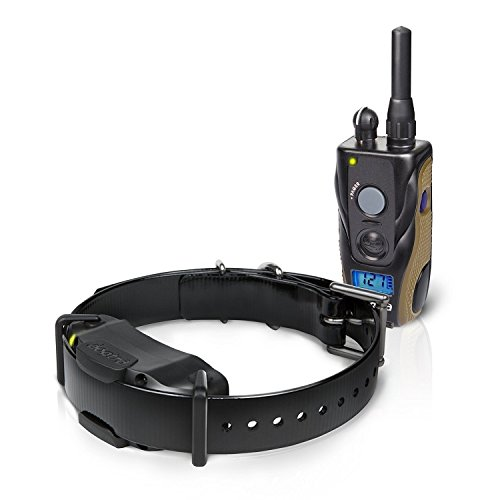 Best Dogtra E Collar Training For Dogs - Field Star 1900S - 3/4 Mile Remote Trainer with LCD Screen - Fully Waterproof Collar - With Free eOutletDeals Value Bundle.