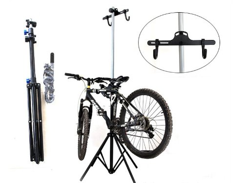 Wotefusi New Metal Portable Repair Storage Display Stand Adjustable For Outdoor Sports Road MTB Mountain Cycle Cycling Bicycle Bike by Wotefusi (Image #1)