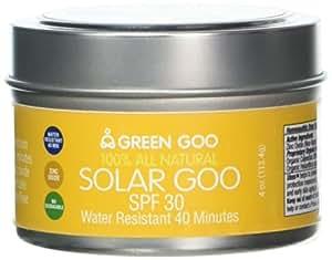 Green Goo All-Natural Skin Care, Solar Goo, 4 Ounce, Jar