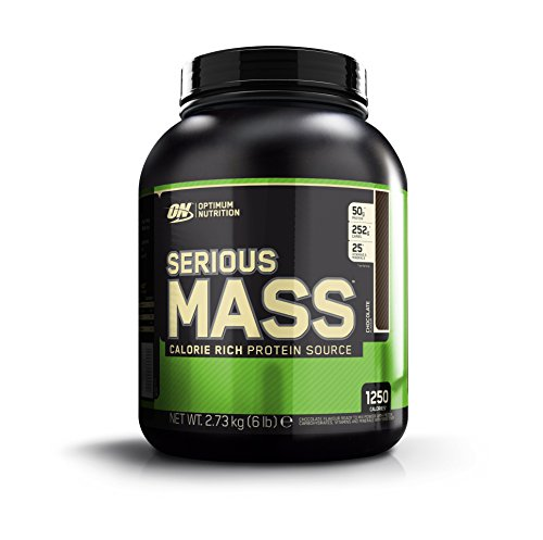 Optimum Nutrition Serious Mass Suplemento para Deportistas, Sabor de Chocolate