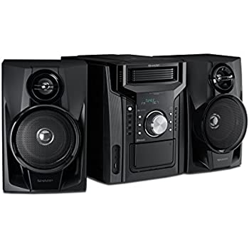 Amazon Com Rca Rs2867b 5 Cd Audio System With Bluetooth