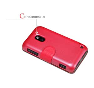 Rojo Funda Case y Protector de Pantalla y Polvo Limpieza Film y Stylus Pen Para Nokia Lumia 620 Nillkin NK10023