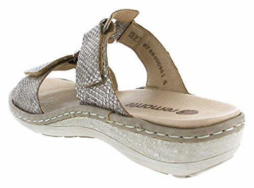 Pour 64 D7644 Femme Chaussures de Marron Ville à Remonte Lacets Wwq6R05wn