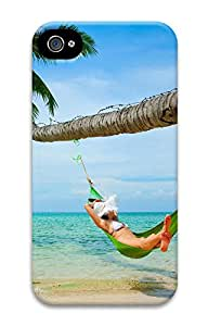 iPhone 4 4S Case Beach Girls 3D Custom iPhone 4 4S Case Cover