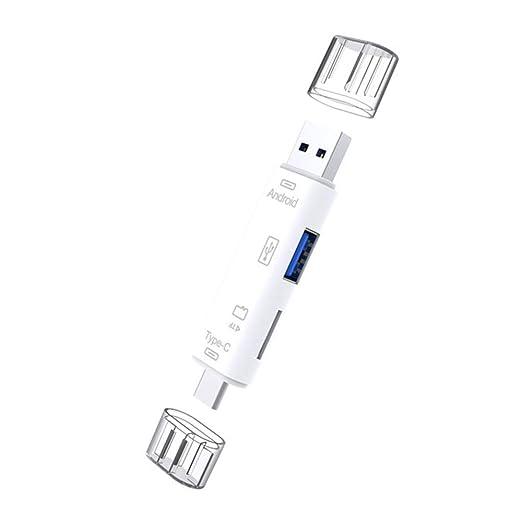 Tarjeta Micro SD USB 2.0 Lector de Doble Ranura para Tarjeta ...