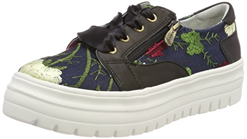 Laura Vita Women's Denise 02 Trainers, Multicoloured Black (Noir Noir)