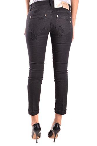 Coton Femme DONDUP P692BS009DO87999 Jeans Noir w7wdqBta