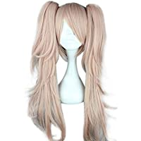 Mtxc Danganronpa Cosplay Junko Enoshima Duel Ponytail Wig Pink