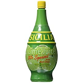 Sicilia Lime Juice - 7 oz 11 Use Like Fresh Limes Squeezed from Real Limes Imported from Italy