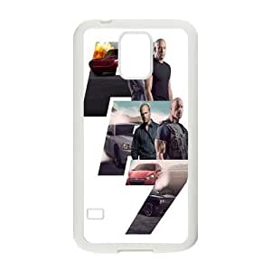 Cool Fast Furious 7 Durable TPU Custom Snap On Case For Samsung Galaxy S5 i9600