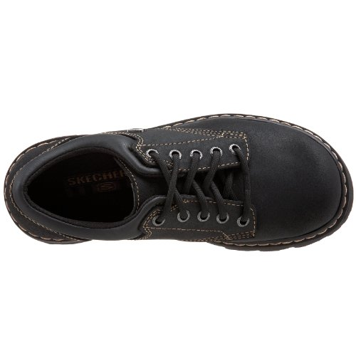 Leather Oxford Negro Suede Partes De Skechers Zapato Compaã±ero black qw8XS4tv