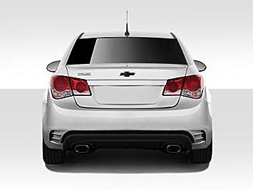 2011 - 2015 Chevrolet Cruze DuraFlex concepto X trasera Bumper Cover - 1 pieza: Amazon.es: Coche y moto