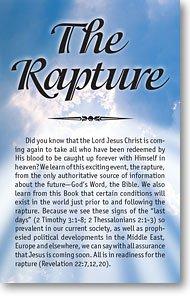 The Rapture (Packet of 100, NKJV)