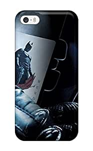First-class Case Cover For Iphone 5/5s Dual Protection Cover The Dark Knight ()
