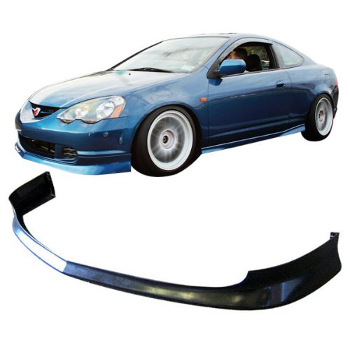 02-04 Acura RSX 2 Door Type-J Add-On Front Bumper Lip Polyurethane