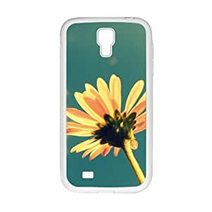 Personalized Clear Phone Case For Samsung Galaxy S4,flowers and sky