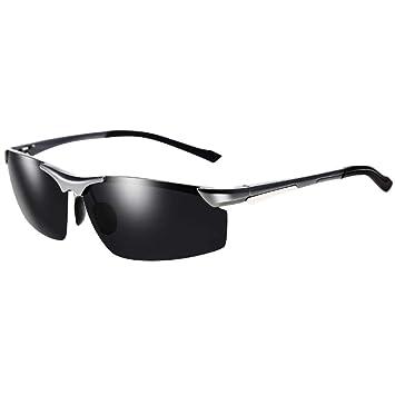 d9c7d782bf Amcer Gafas de Sol Deportivas para Hombres, polarizadas, protección UV 100%  Gafas de