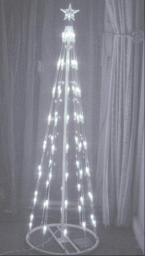 Contemporary Christmas Trees Uk.Stunning Modern White Led Christmas Tree Amazon Co Uk Lighting