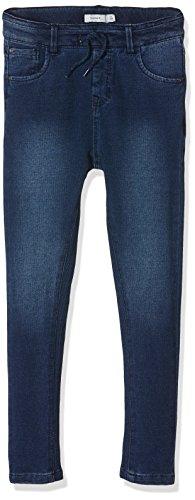NAME IT Nittove Slim/Skinny Dnm Pant Nmt, Jeans Niñas Azul (Dark Blue Denim)