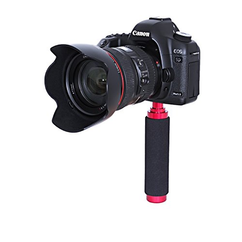 Movo Photo SVH5 Solid Aluminum Handgrip Video Stabilizer for DSLR Cameras and Camcorders