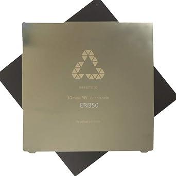 Zamtac Energetic - Hoja de resorte flexible de acero de 350 x 350 ...