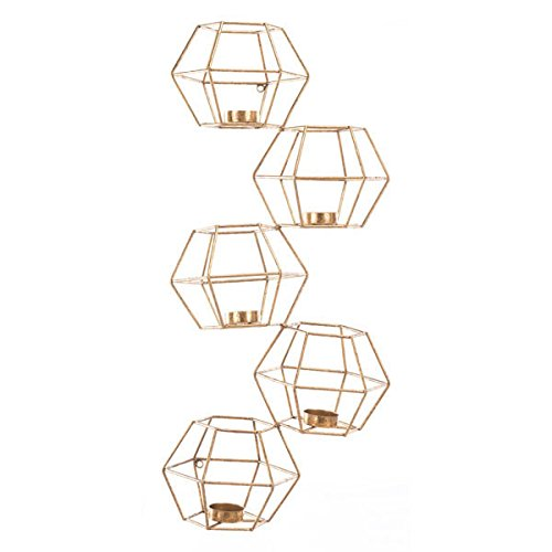 Zuo Wall Candle Holder (Set of 5), -